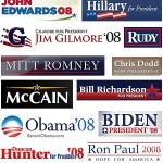 logo calon presiden amerika